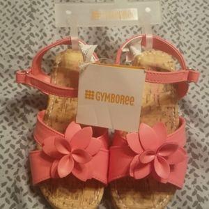 NWT Girls wedge heel sandals
